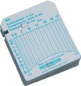 Motometer 5134124900 KPS Registrierblatt 2 - 12 bar
