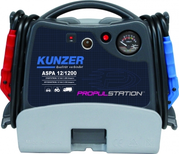 AKKU-START ASPA 12/1200 AKKU-Start 12V mit Ladestation